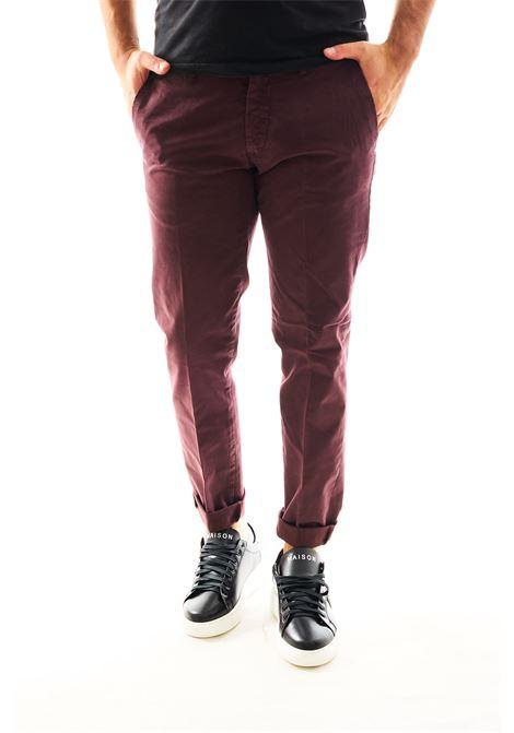 Pantalone chino SETTE/MEZZO | Pantalone | E98/146PRUGNA