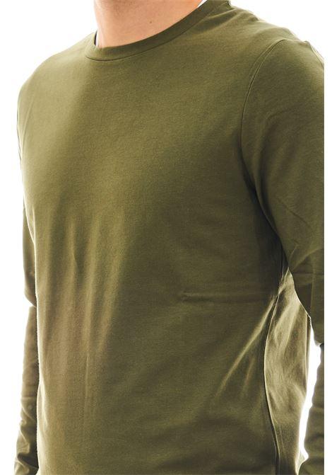 Mahli a manica lunga SSEINSE | T-shirt | MI1691SSVERDE MILITARE