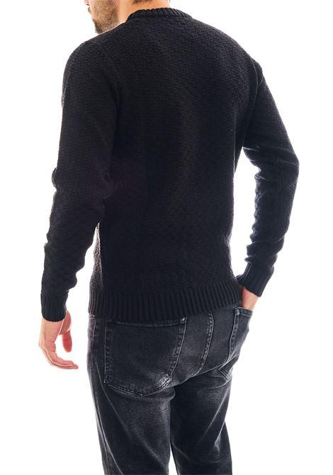 Pullover in misto lana SSEINSE | Maglia | MI1733SSNERO