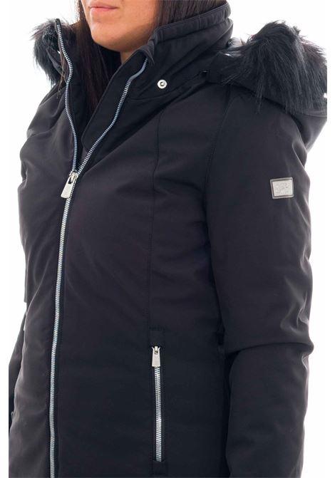 Cappotto lungo con pelliccia YES-ZEE | Cappotto | O001-N4000801