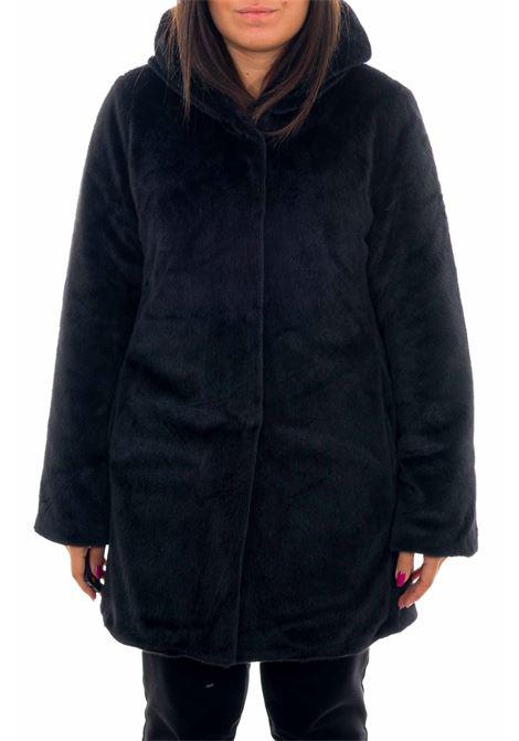 Cappotto lungo in pelliccia YES-ZEE | Cappotto | O040-HG000801