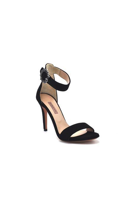 Sandalo Albano con accessorio ALBANO | Scarpe | 4166NERO