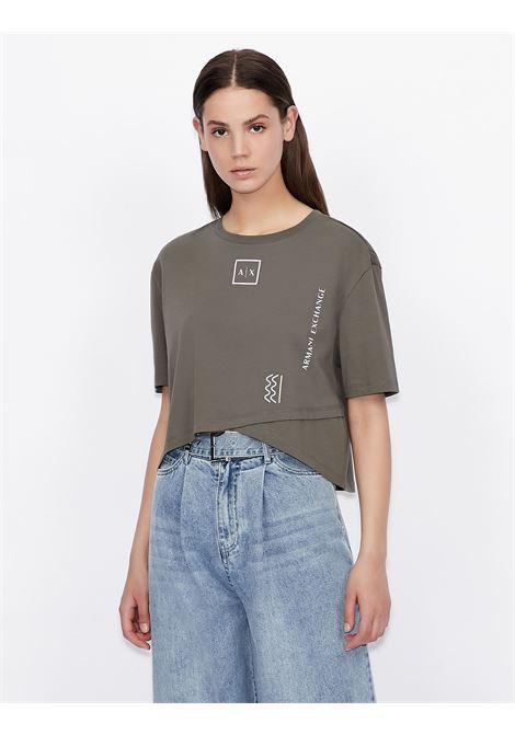 T-shirt cropped Armani Exchange ARMANI EXCHANGE | T-shirt | 3KYTKP-YJ7MZ1960