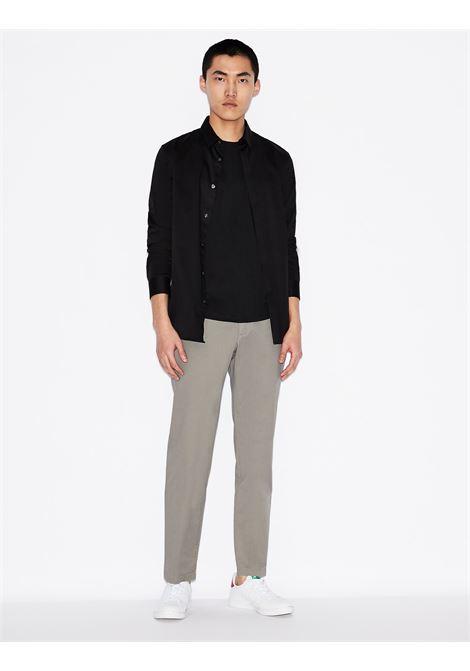 T-shirt girocollo slim fit in cotone pima Armani Exchange ARMANI EXCHANGE | T-shirt | 8NZT74-ZJA5Z1200