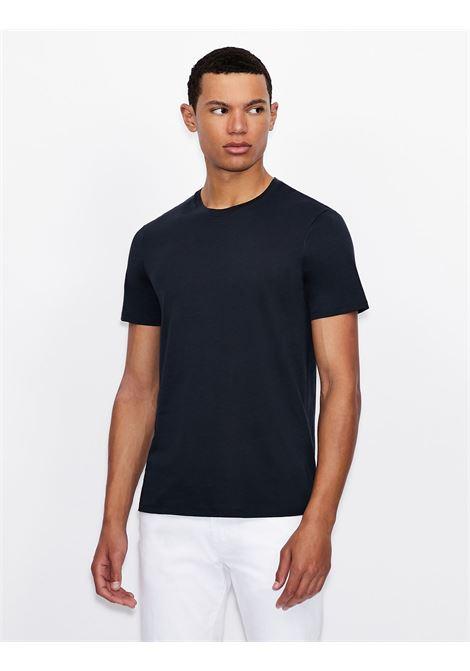 T-shirt girocollo slim fit in cotone pima Armani Exchange ARMANI EXCHANGE | T-shirt | 8NZT74-ZJA5Z1510