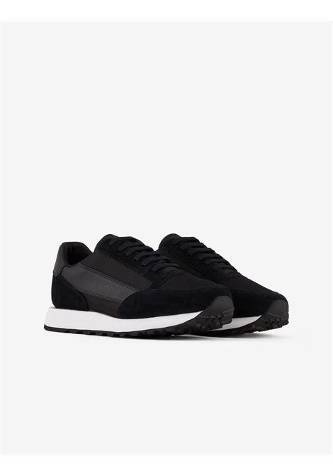 Sneaker in pelle Armani Exchange ARMANI EXCHANGE | Scarpe | XUX083-XV263R595