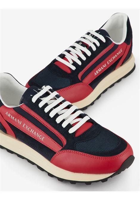 Sneaker in action leather Armani Exchange ARMANI EXCHANGE | Scarpe | XUX101-XV294K572