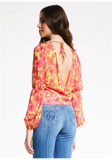 Blusa in creponne Denny Rose DENNY ROSE | Maglia | ND45004118922-01