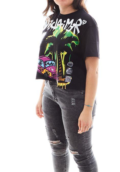 T-shirt Disclaimer DISCLAIMER | Maglia | EDS50639NERO