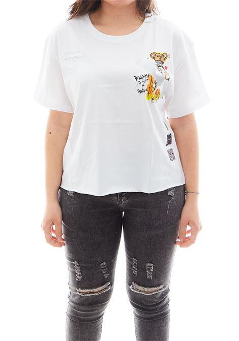 T-shirt Disclaimer DISCLAIMER | Maglia | EDS50649BIANCO