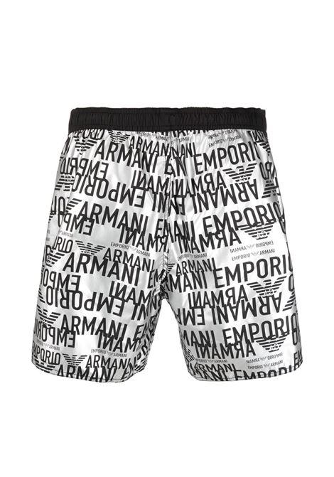Costume boxer logo tonale all over Emporio Armani EMPORIO ARMANI | Costume | 211740-1P42600017