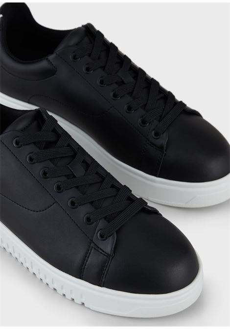 Sneakers in pelle Emporio Armani EMPORIO ARMANI | Scarpe | X4X312-XM747K001
