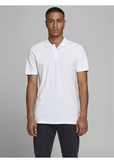 JJebasic Polo SS noos JACK&JONES | Polo | 12136516WHITE