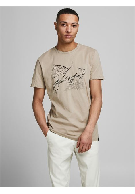 Jorron tee JACK&JONES | T-shirt | 12185179CROCKERY