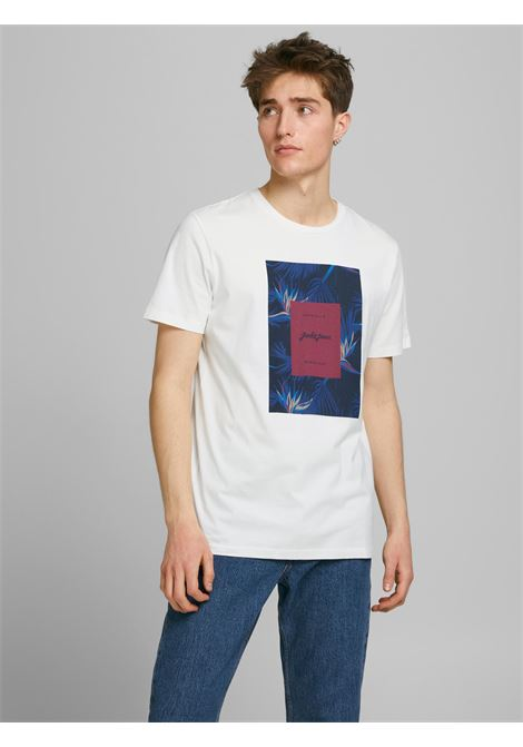 Jorflorall Print T-shirt JACK&JONES | T-shirt | 12186330CLOUD DANCER