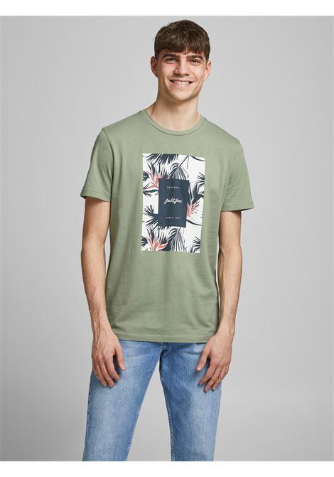 Jack&Jones Jorflorall Print T-shirt JACK&JONES | T-shirt | 12186330SEA SPRAY