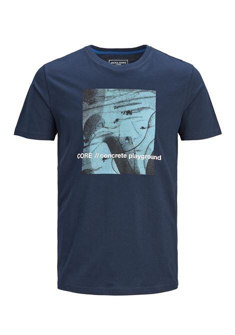 Cojump Tee Crew neck plus JACK&JONES | T-shirt | 12186571NAVY BLAZER