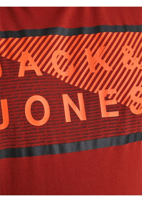 Coshawn tee crew neck plus JACK&JONES   T-shirt   12186827RED OCHRE