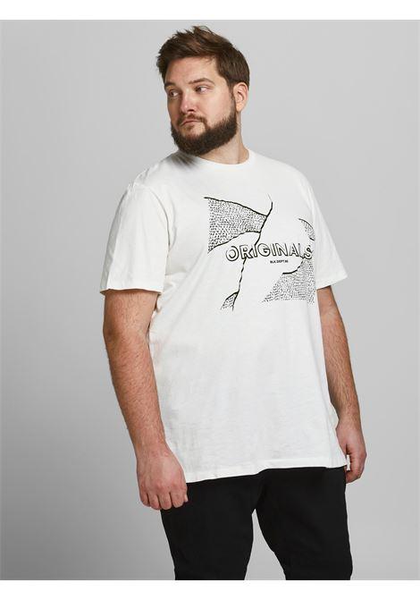 Jorron tee PS Jack and Jones JACK&JONES | T-shirt | 12186883CLOUD DANCER
