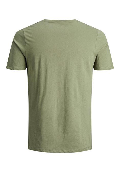 Corojar tee ss T-shirt J JACK&JONES | T-shirt | 12188039DEEP LICHEN GREEN