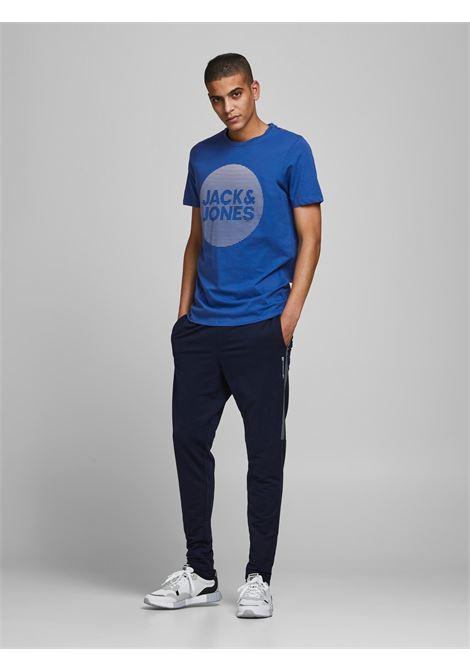 Corojar tee ss T-shirt JACK&JONES | T-shirt | 12188039GALAXY BLUE