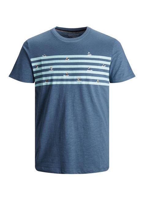 T-shirt Jack and Jones JACK&JONES   T-shirt   12188495ENSIGN BLUE