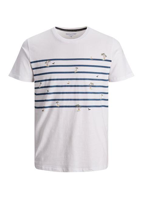T-shirt Jack and Jones JACK&JONES   T-shirt   12188495WHITE