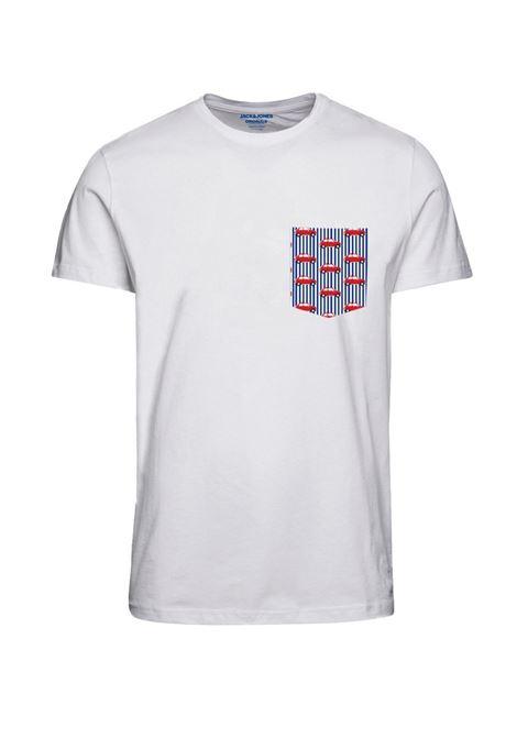 T-shirt Jack and Jones JACK&JONES   T-shirt   12193474WHITE