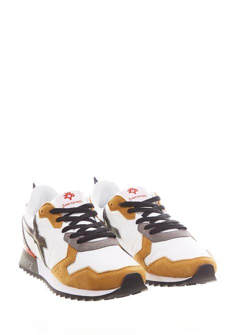 Sneaker in tessuto e pelle W6yz JUST SAY WIZZ | Scarpe | JET-MWHITE/BLACK/ZUCCA