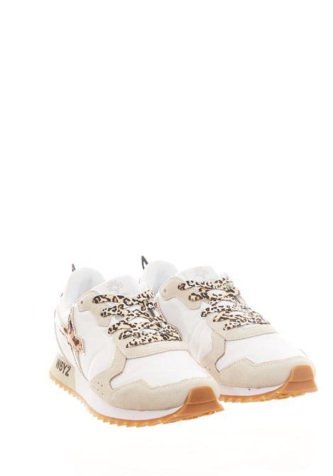 Sneaker in tessuto e pelle W6yz  JUST SAY WIZZ | Scarpe | JET-WWHITE/CREAM