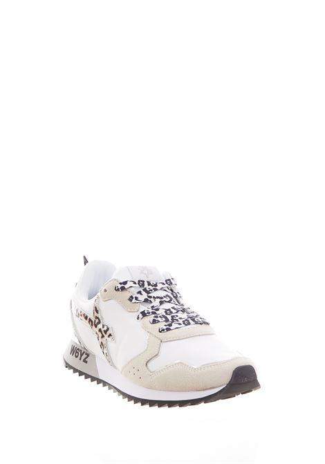 Sneaker in tessuto e pelle W6yz JUST SAY WIZZ | Scarpe | JET-WWHITE/GREY