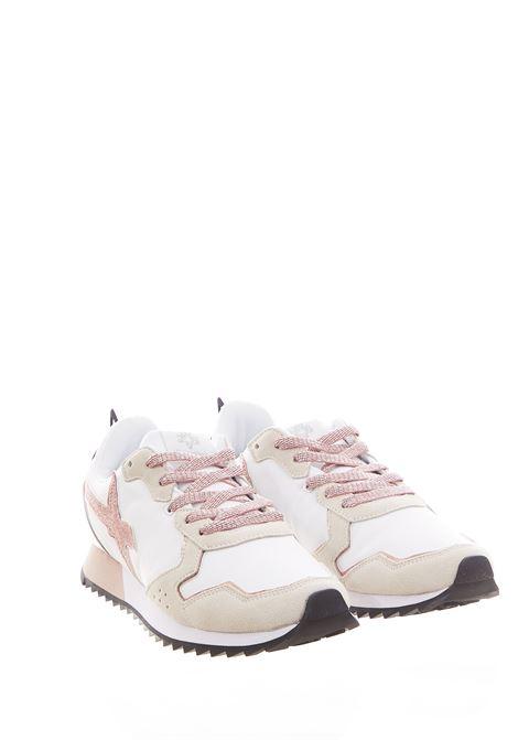 Sneaker in tessuto e pelle W6yz  JUST SAY WIZZ | Scarpe | JET-WWHITE/ROSE