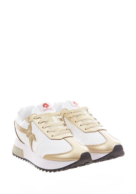 Sneaker in tessuto e pelle W6yz  JUST SAY WIZZ | Scarpe | KIS-W.PLATINUM/WHITE
