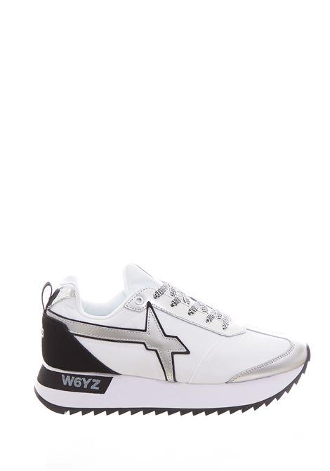 KIS-W.WHITE/SILVER