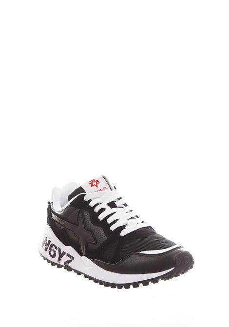Sneaker in tessuto e pelle W6yz  JUST SAY WIZZ | Scarpe | WOLF-MBLACK
