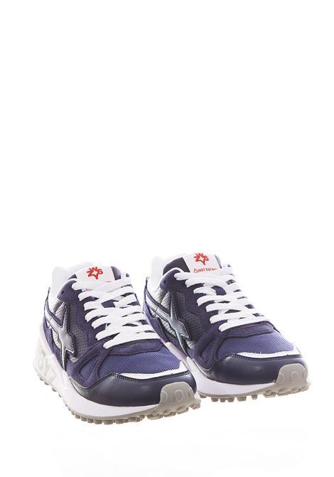 Sneaker in tessuto e pelle W6yz JUST SAY WIZZ | Scarpe | WOLF-MBLU