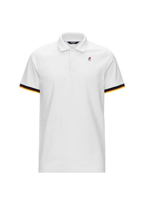 Polo Vincent contrast stretch K-way K-WAY | Polo | K008J50-VINCENT001