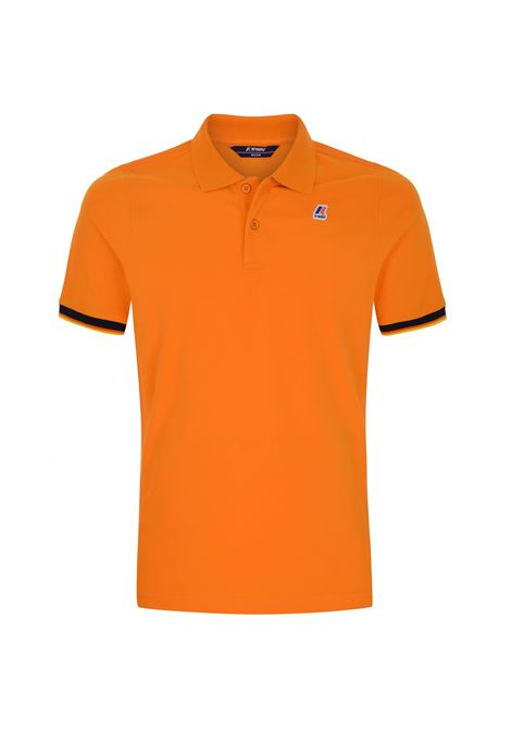Polo Vincent contrast stretch K-way K-WAY | Polo | K008J50-VINCENT026