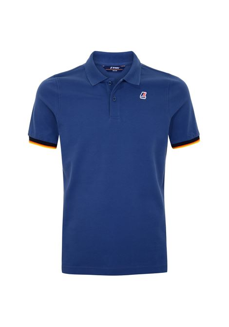 Polo Vincent contrast stretch K-way K-WAY | Polo | K008J50-VINCENT379