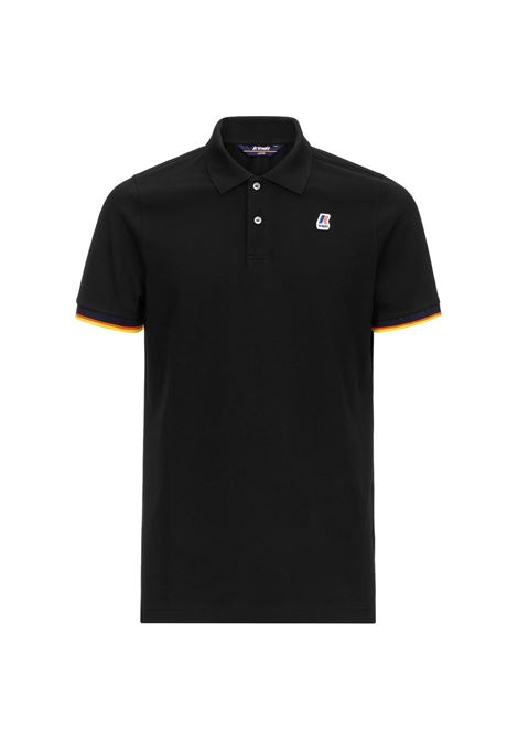 Polo Vincent contrast stretch K-way K-WAY | Polo | K008J50-VINCENTUSY