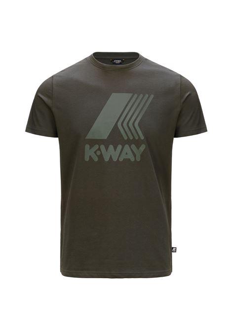 T-shirt K-way Elliot Logo K-WAY   T-shirt   K009PR0-ELLIOT LOGO890