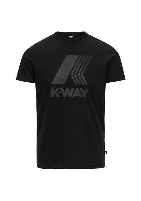 T-shirt K-way Elliot Logo K-WAY | T-shirt | K009PR0-ELLIOT LOGOUSY
