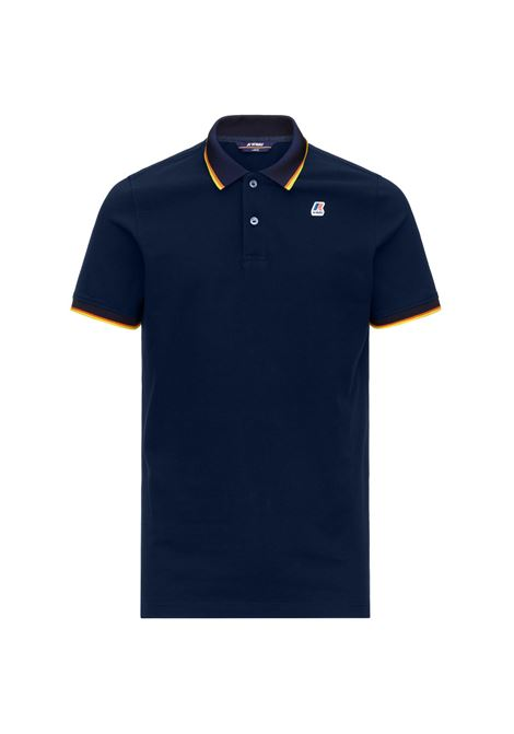 Polo Vincent total contrast stretch K-way K-WAY | Polo | K111NXW-VINCENTK89
