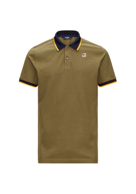 Polo Vincent total contrast stretch K-way K-WAY | Polo | K111NXW-VINCENTX7Q