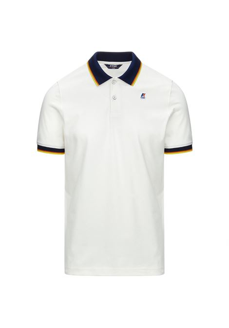 Polo Vincent total contrast stretch K-way K-WAY | Polo | K111NXW-VINCENTXRE