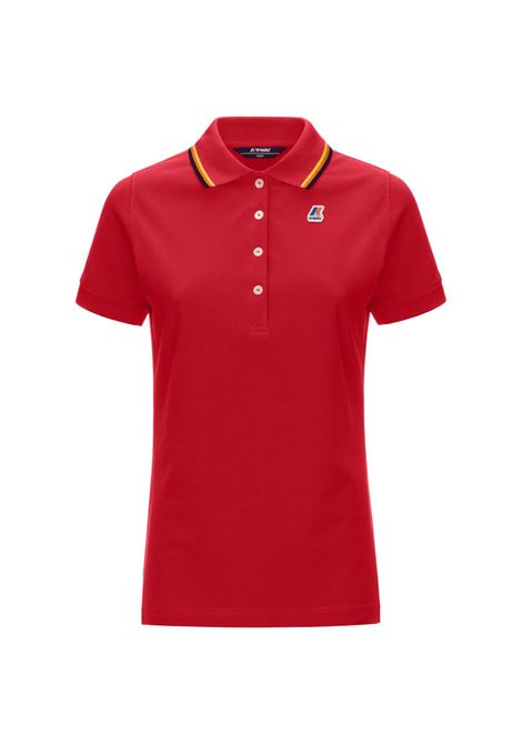 Polo Alizee stretch K-way K-WAY | Polo | K111NYW-ALIZEEQ03