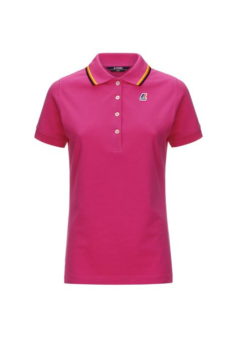 Polo Alizee stretch K-way K-WAY | Polo | K111NYW-ALIZEEXLF
