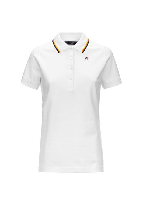 Polo Alizee stretch K-way K-WAY | Polo | K111NYW-ALIZEEXRE