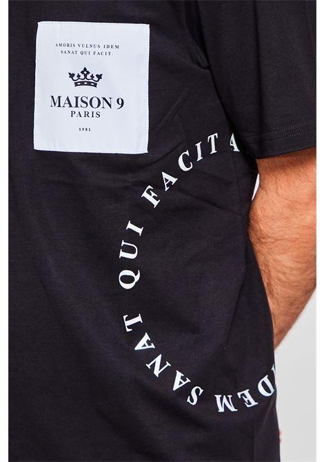 T-shirt Maison 9 Paris MAISON 9 PARIS | T-shirt | 2240NERO