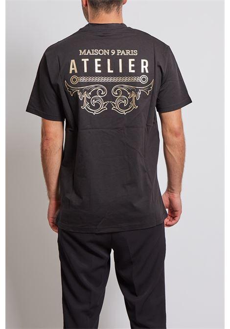 T-shirt Maison 9 Paris MAISON 9 PARIS   T-shirt   2265NERO